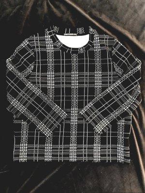 Drykorn Sweater wit-zwart