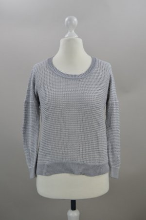 Drykorn Pullover Strick grau Größe S