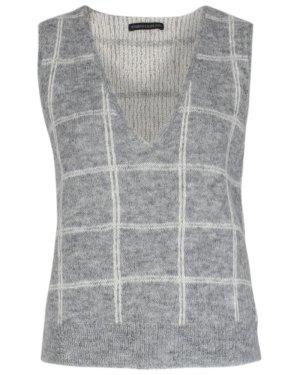 Drykorn Cárdigan de punto fino multicolor lana de alpaca