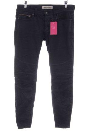 Drykorn Pantalone a sigaretta nero stile casual
