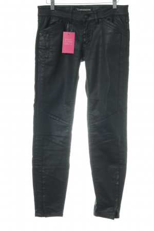 Drykorn Drainpipe Trousers black party style
