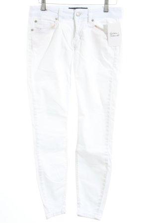 Drykorn Röhrenhose weiß minimalistischer Stil