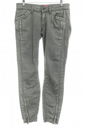 Drykorn Tube jeans donkergrijs Biker-look
