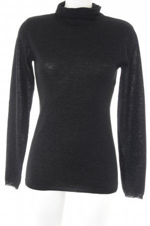 Drykorn Turtleneck Sweater black-light blue casual look