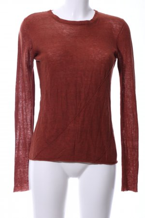 Drykorn Rundhalspullover rot Casual-Look