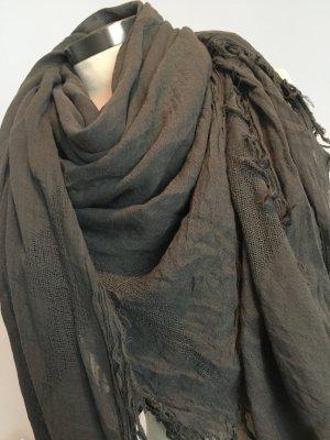 Drykorn Woolen Scarf grey-anthracite