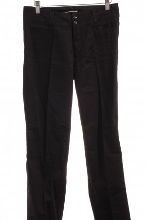 Drykorn Pantalón de campana negro estilo «business»