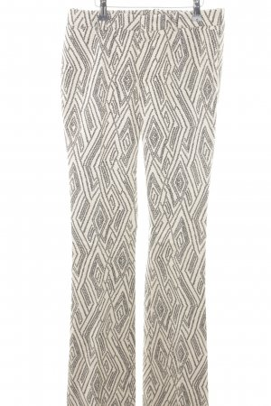 Drykorn Flares white-black abstract pattern classic style