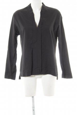 Drykorn Blouse à enfiler gris anthracite style simple