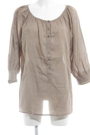 Drykorn Schlupf-Bluse beige Casual-Look