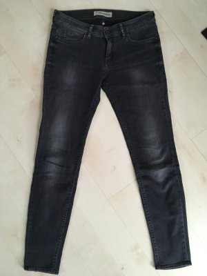 Drykorn Skinny Jeans black mixture fibre
