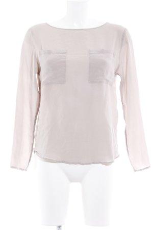 Drykorn Zijden blouse stoffig roze straat-mode uitstraling