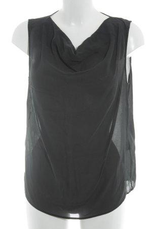 Drykorn Zijden blouse antraciet elegant