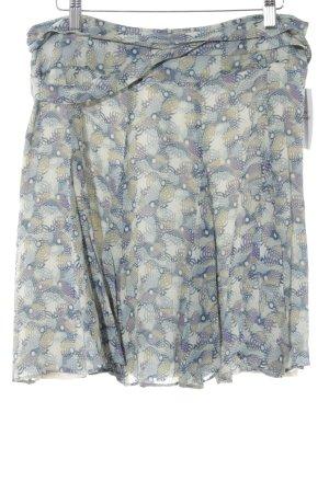 Drykorn Seidenrock abstraktes Muster klassischer Stil