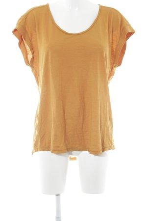 Drykorn Hemdtuniek goud Oranje casual uitstraling