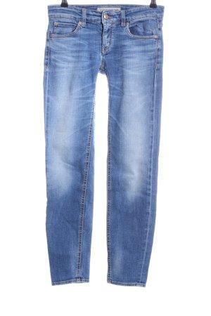 Drykorn Skinny Jeans blau Business-Look