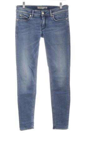 Drykorn Skinny Jeans blau Jeans-Optik