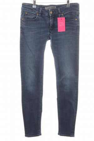 Drykorn Skinny jeans donkerblauw casual uitstraling