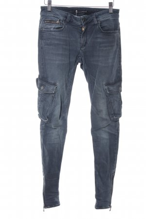 Drykorn Skinny jeans donkergrijs casual uitstraling