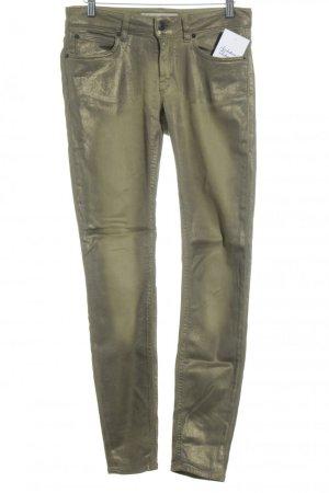 Drykorn Skinny Jeans goldfarben Casual-Look