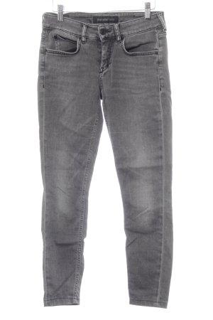 Drykorn Skinny Jeans grau-schwarz Casual-Look