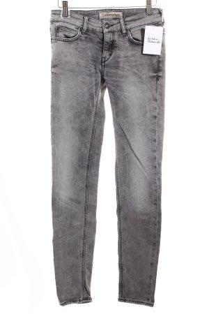 Drykorn Skinny Jeans grau Street-Fashion-Look