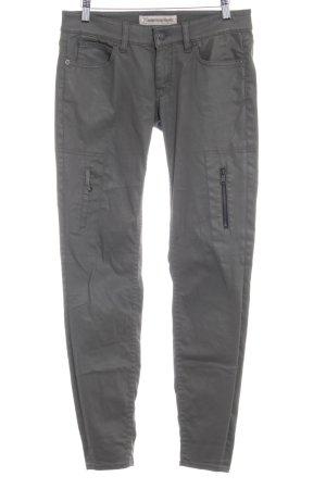 Drykorn Skinny Jeans grüngrau schlichter Stil