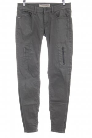 Drykorn Skinny jeans groen-grijs simpele stijl