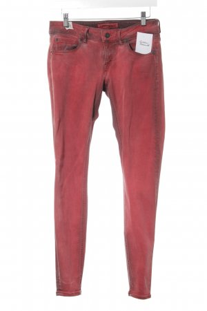 Drykorn Skinny Jeans rot Casual-Look