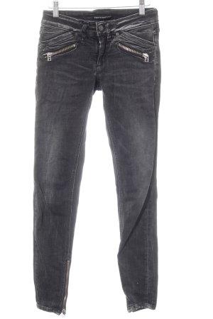 Drykorn Skinny Jeans schwarz-dunkelgrau Casual-Look