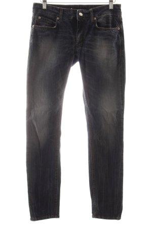 Drykorn Skinny Jeans stahlblau Casual-Look