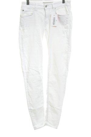 Drykorn Skinny Jeans weiß Business-Look