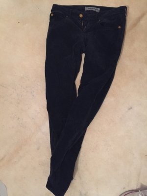 Drykorn Pantalone cinque tasche blu scuro
