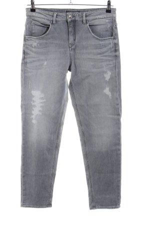 Drykorn Slim Jeans hellgrau Casual-Look