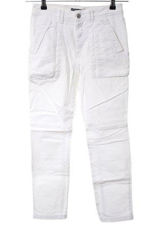 Drykorn Slim Jeans weiß Casual-Look
