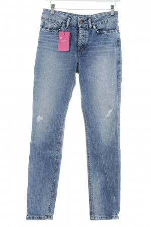 Drykorn Slim jeans blauw casual uitstraling