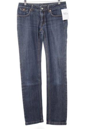 Drykorn Slim Jeans dunkelblau Casual-Look