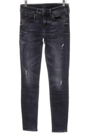 Drykorn Slim Jeans dunkelgrau-hellgrau Casual-Look