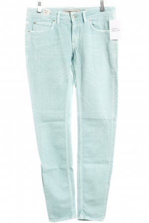 Drykorn Slim Jeans mint Used-Optik