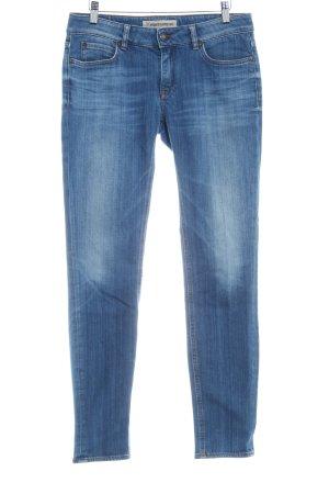 Drykorn Slim Jeans stahlblau Washed-Optik