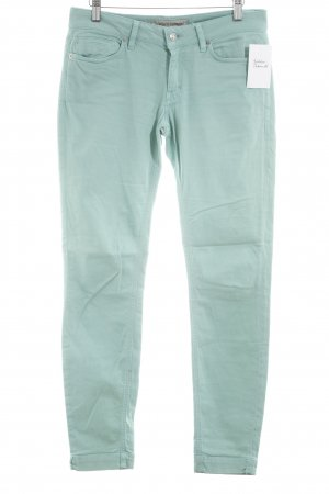 Drykorn Slim Jeans türkis klassischer Stil