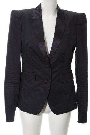 Drykorn Blazer de esmoquin negro estilo «business»