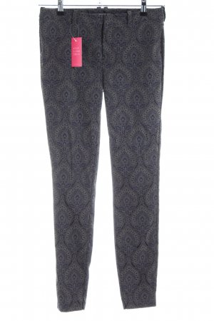 Drykorn Stoffhose Allover-Druck Casual-Look