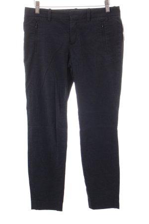 Drykorn Pantalone jersey blu scuro stile semplice