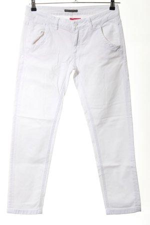 Drykorn Straight-Leg Jeans weiß Casual-Look