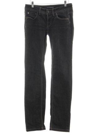 Drykorn Straight-Leg Jeans schwarz Casual-Look