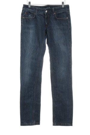 Drykorn Jeans met rechte pijpen blauw casual uitstraling