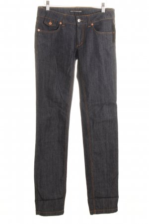 Drykorn Straight-Leg Jeans dunkelblau Business-Look