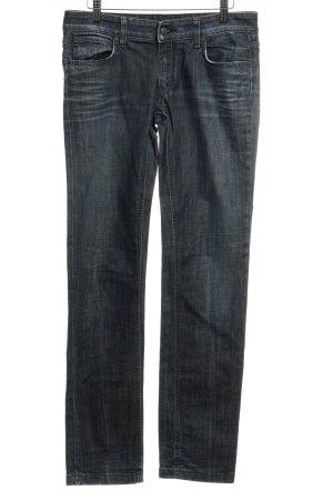 Drykorn Straight-Leg Jeans graublau meliert Casual-Look