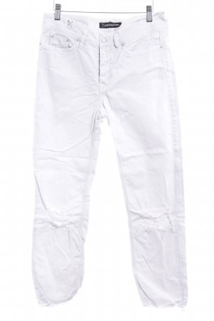 Drykorn Straight-Leg Jeans weiß Casual-Look